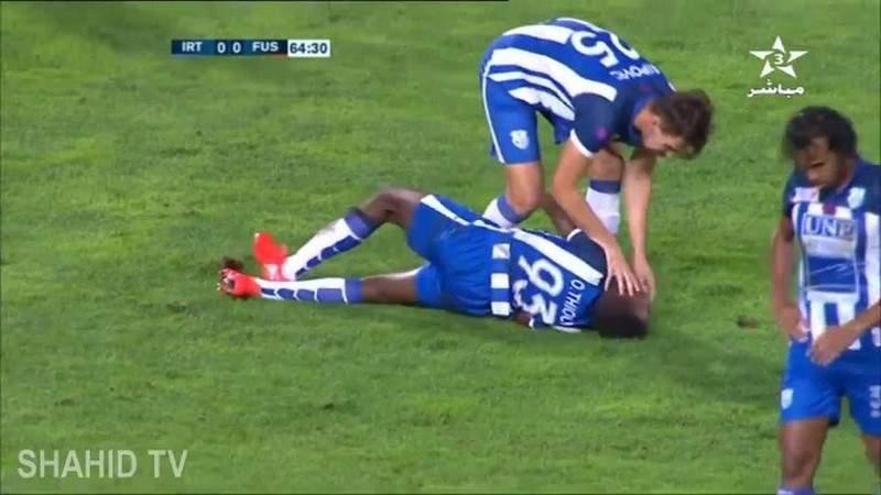 بالفيديو.. هكذا أنقذ لاعب مغربي زميله من الموت
