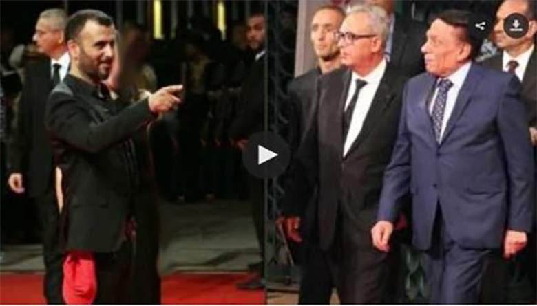 شاهد.. ممثل تونسي يهين عادل إمام وسفير مصر يغضب