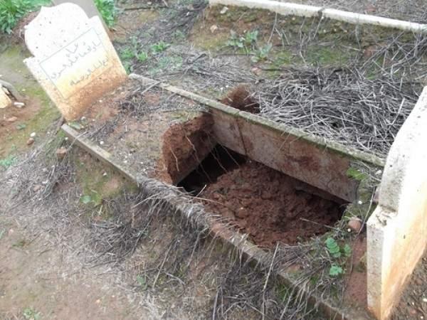 السعودية: شاب ينبش قبر خاله للبحث عن آيفون 7