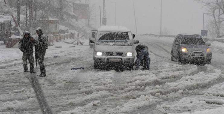 ما هي الطرقات السالكة والطرقات المقطوعة بسبب تراكم الثلوج؟