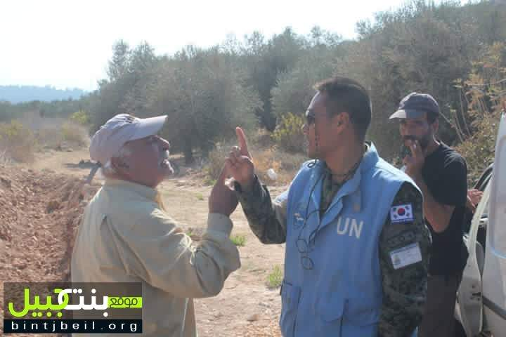 بالصور / اهالي بليدا يتحدون الجيش الاسرائيلي من جديد وينظفون بئر نبي الله شعيب