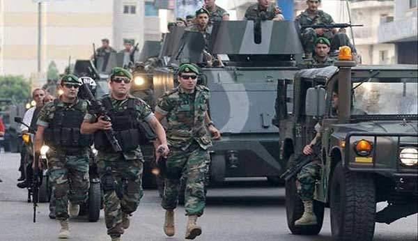 بالاحرف الاولى .. الجيش يوقف المشاركين في العمل الإرهابي الذي استهدف مركزهم في البقاع