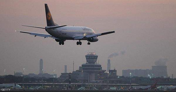طائرة متجهة الى المانيا تهبط في نيويورك بعد تهديد بوجود قنبلة على متنها