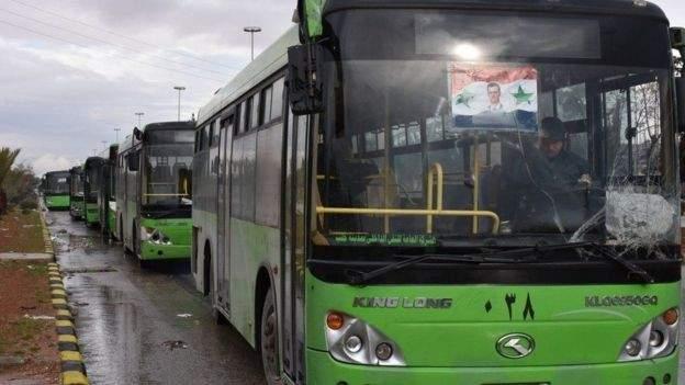 توقف عملية الإجلاء في حلب