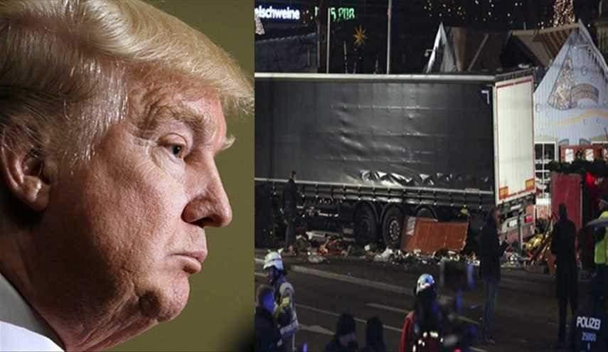 ترامب يتوعد الارهابيين وشبكاتهم الاقليمية والدولية بمحوهم من الكرة الارضية