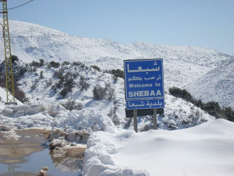 الثلوج تعيق وصول التلاميذ الى المدارس في شبعا