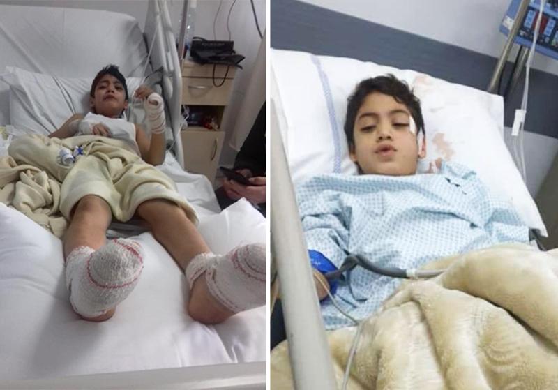 بعد إصابة الطفل شادي بالرصاص عندما زار جده وهاب للتعزية...الصغير سيخضع لعملية جراحية ثانية
