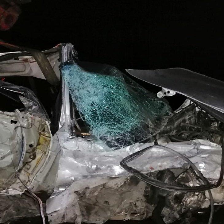 حادث مروع على طريق الغازية يودي بحياة الشاب ابو يوسف السريع