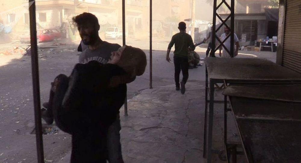 طائرات أمريكية تقصف مدينة دير الزور بأسلحة فوسفورية محظورة!