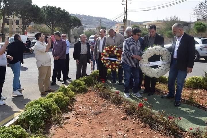 الذكرى السنوية للشهيدين على جواد شرارة ومحمد أمين درويش
