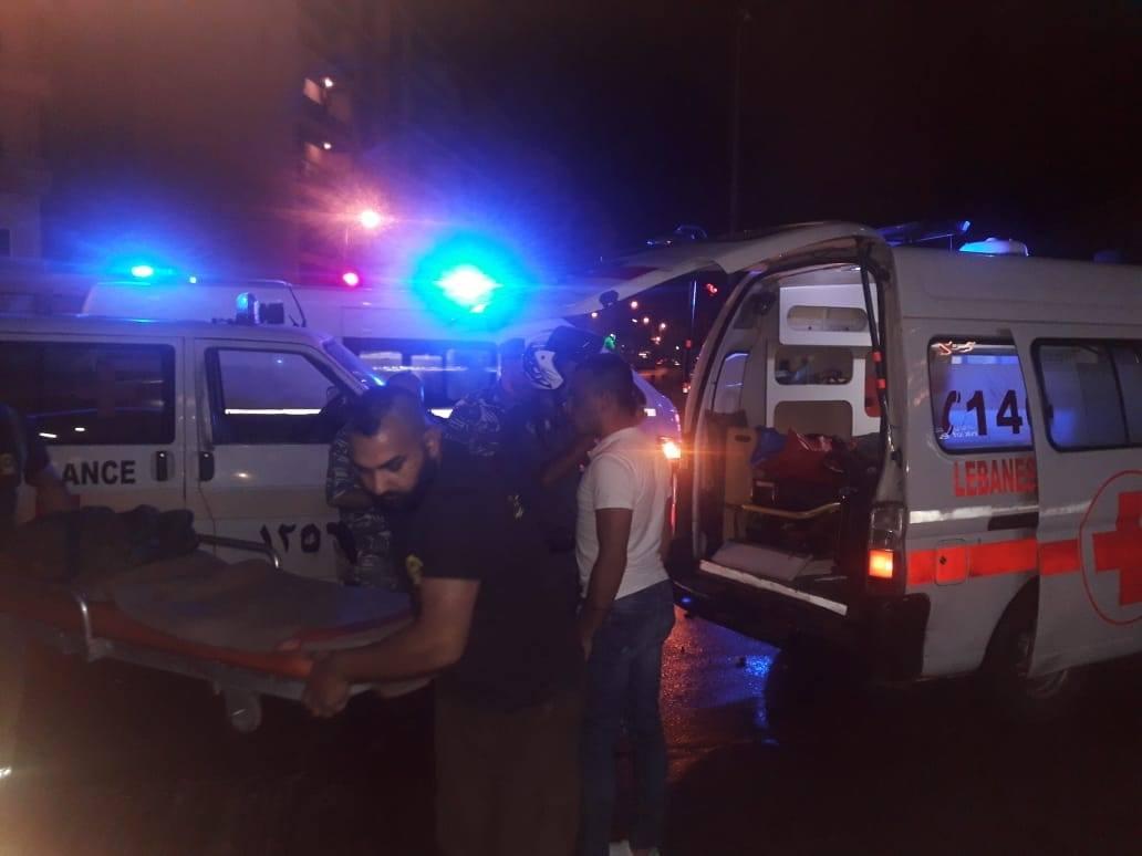 بالصور والفيديو/ 7 جرحى بحادث سير مروع عند تقاطع الجديدة - المتن وبعضهم إصابتهم حرجة