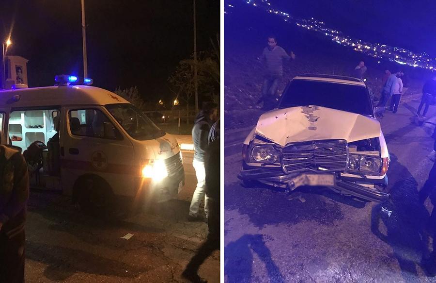 بالصور/ حادث تصادم قوي على اوتوستراد المنية أدى إلى سقوط شابين في مجرى جانب الطريق...والحصيلة قتيل ومصاب