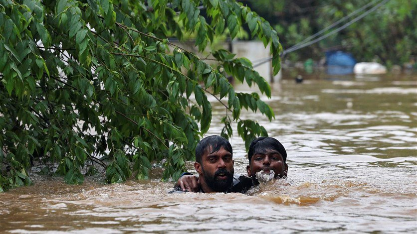 """الهند ترفض 100 مليون دولار مقدمة من الإمارات لمساعدة منكوبي الفيضانات..""""نريد جهودا محلية!"""""""