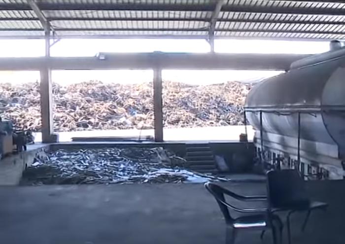 بالفيديو/ الجنوبيون ينتفضون بوجه معمل تدوير الإطارات في برعشيت