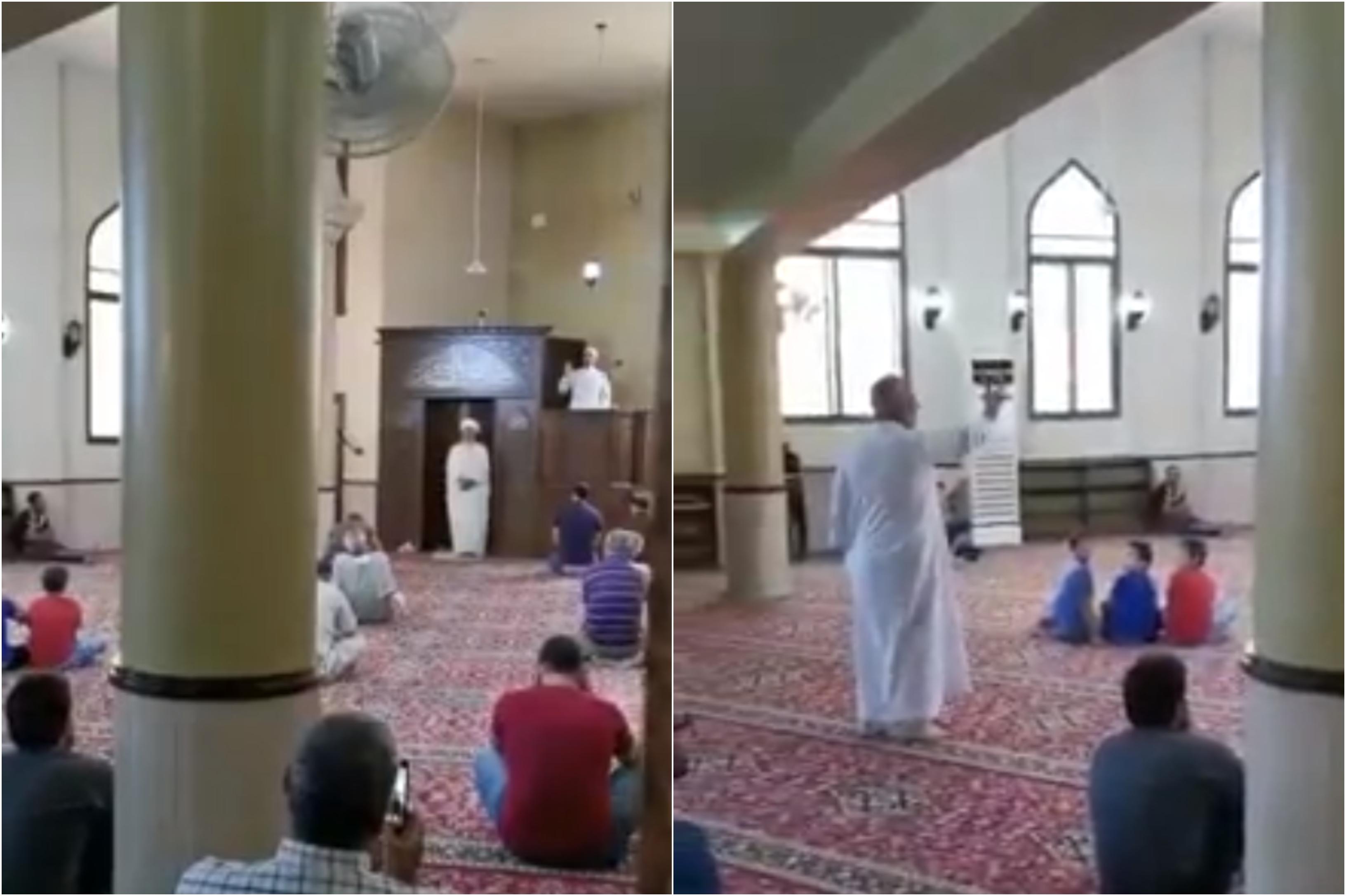 بالفيديو/ خلاف بين امامي صلاة في مخيم الرشيدية أدى لإلقاء خطبتين في الوقت ذاته لكل منهما داخل المسجد!