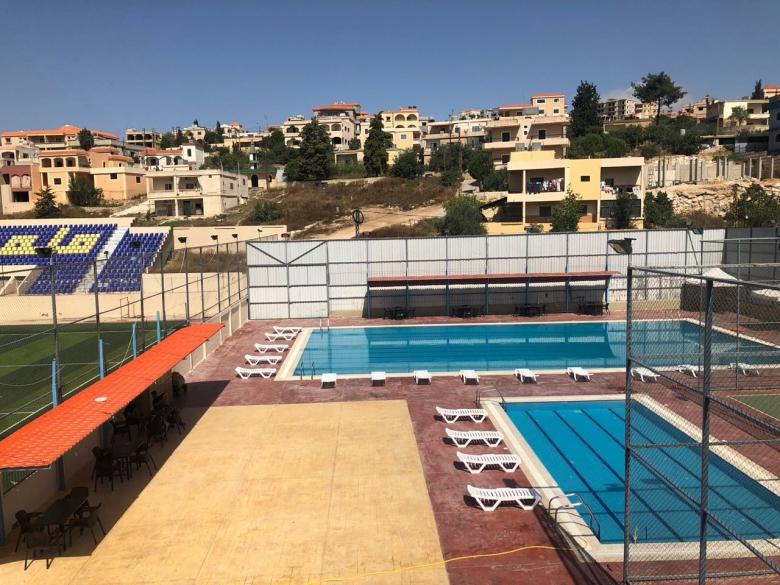 إفتتاح المسبح الصيفي في المجمع الرياضي لبلدية بنت جبيل ودورة سباحة للصغار والناشئة