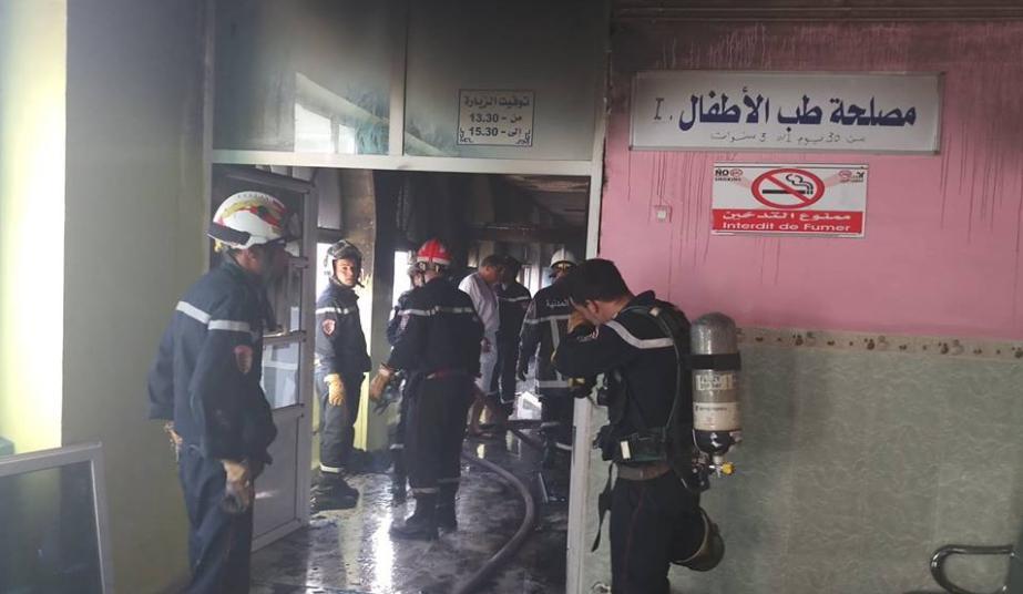 فاجعة تهز الجزائر.. وفاة ثمانية أطفال رُضّع في حريق بمستشفى