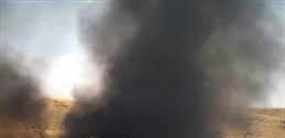 حرق الاطارات لاستخراج النحاس في سقي التبانة.. وحالات اختناق بين المواطنين