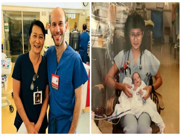 في حدث نادر.. ممرضة تتفاجأ بأن زميلها الطبيب الجديد هو رضيع اعتنت به منذ 28 عاماً!