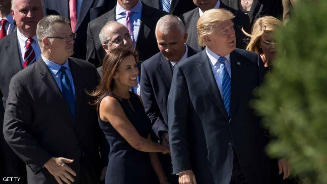 المصرية دينا حبيب باول اتخذت قرارها الحاسم وأبلغت ترامب هاتفيا بانسحابها من دائرة المرشحين