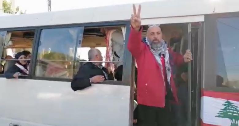 """بالصور/ """"بوسطة"""" يرافقها موكب سيارات انطلقت من النبطية باتجاه طرابلس!"""