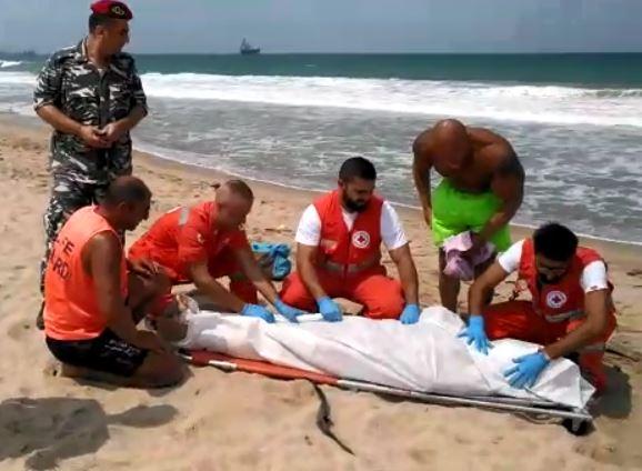 """بالصورة/ """"جهاد"""" قضى غرقاً قبالة شاطئ صيدا"""