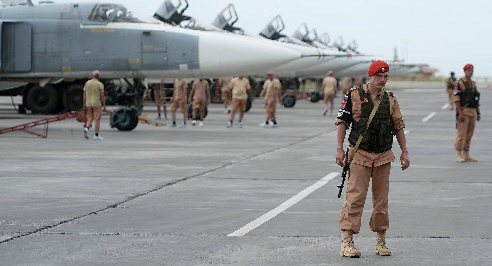 القوات الروسية بقاعدة حميميم في سوريا تسقط طائرتين مسيرتين