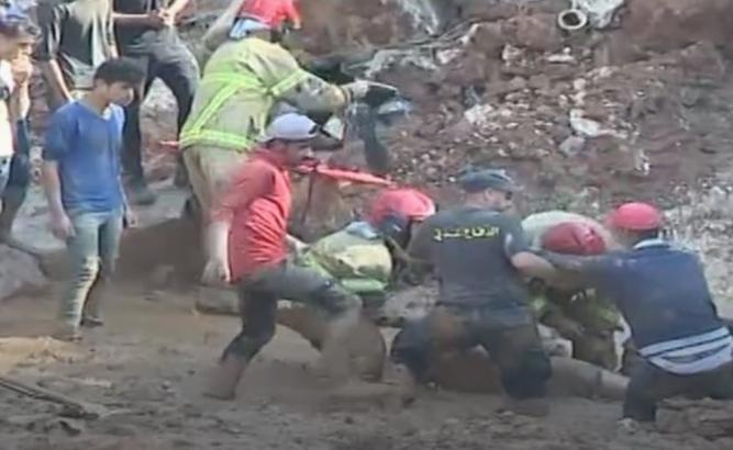 """""""حمود"""" إنهار عليه حائط الورشة...وفاة عامل سوري في ورشة في الدامور"""