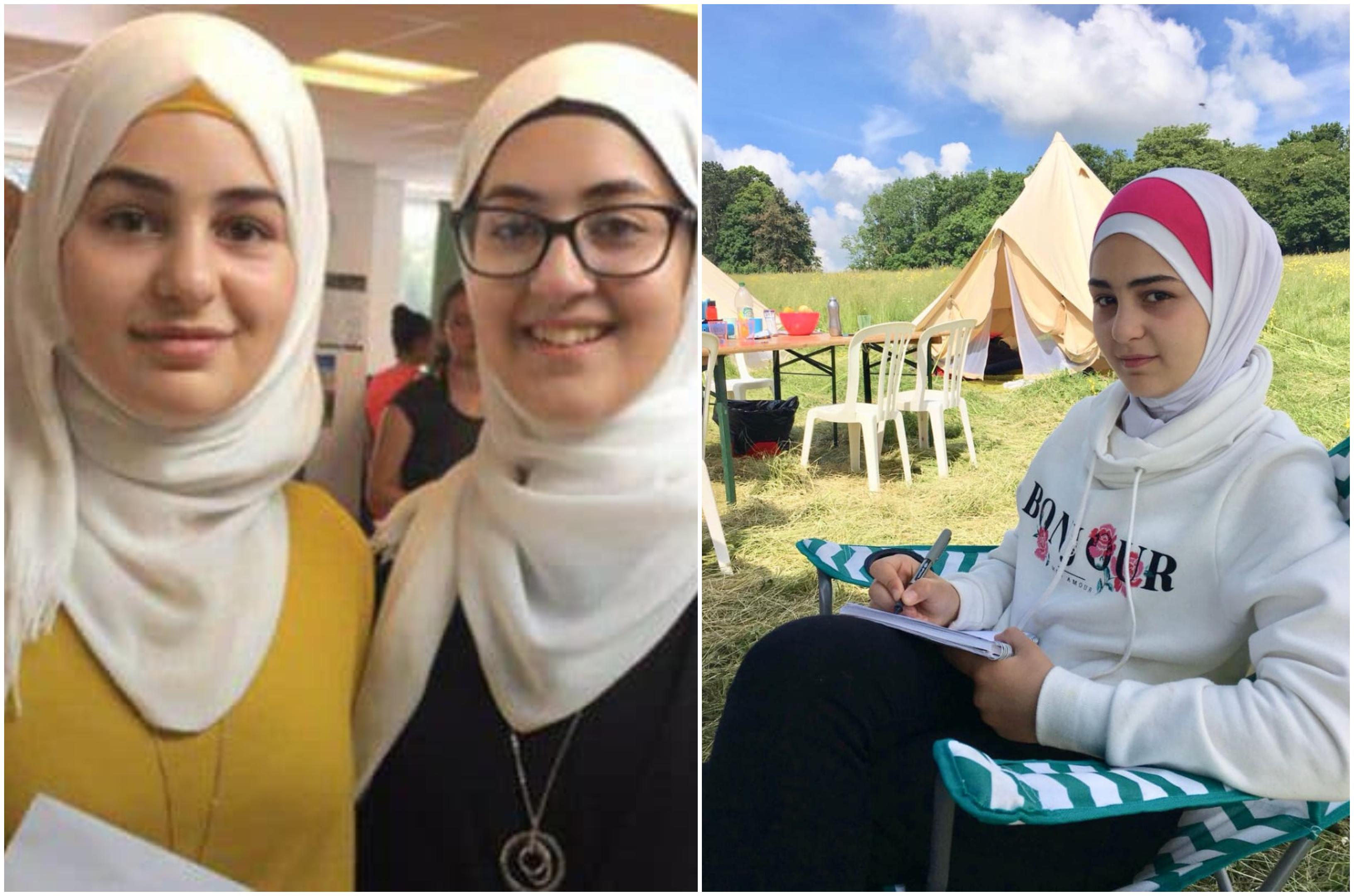 """""""فتون"""" لاجئة سورية كشفت عيوب نظام امتحانات الثانوية في بريطانيا...قصيدتها """"حمائم دمشق"""" دخلت المناهج وحركت الرأي العام"""