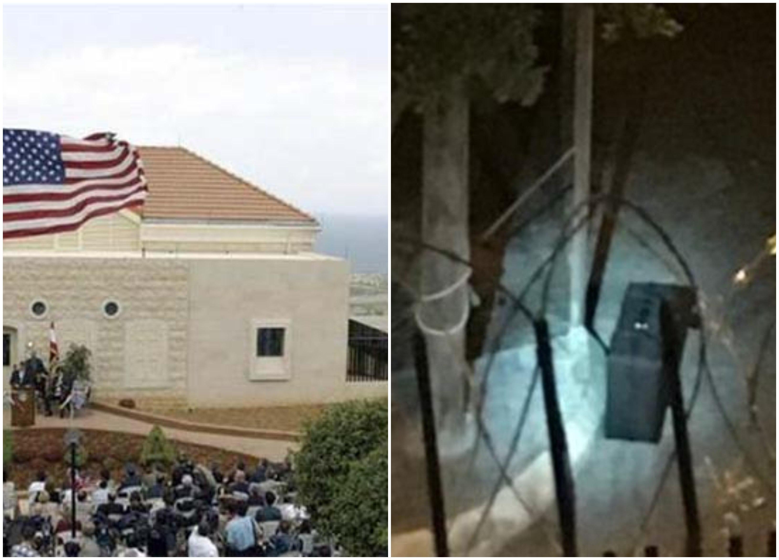 السفارة الأميركية في عوكر تشكر الجيش والقوى الامنية للمساعدة بعد الاشتباه بحقيبة قربها