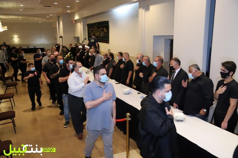 الجالية اللبنانية في ديربورن أحيت ذكرى مرور اسبوع على وفاة المرحوم الحاج نبيه محمد حيدر هاشم