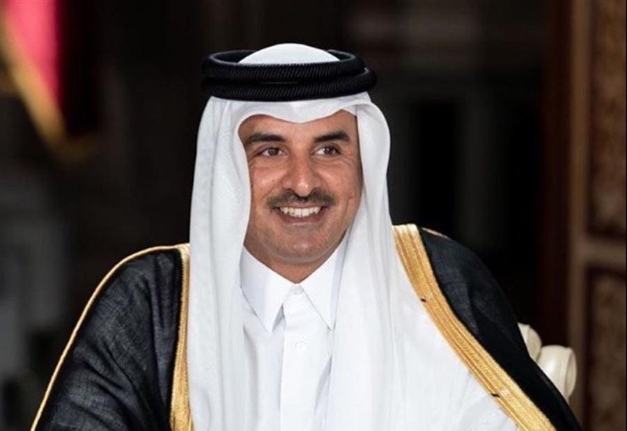 أمير قطر أمام مؤتمر المانحين: أعلن مساهمتنا بخمسين مليون دولار لمساعدة لبنان