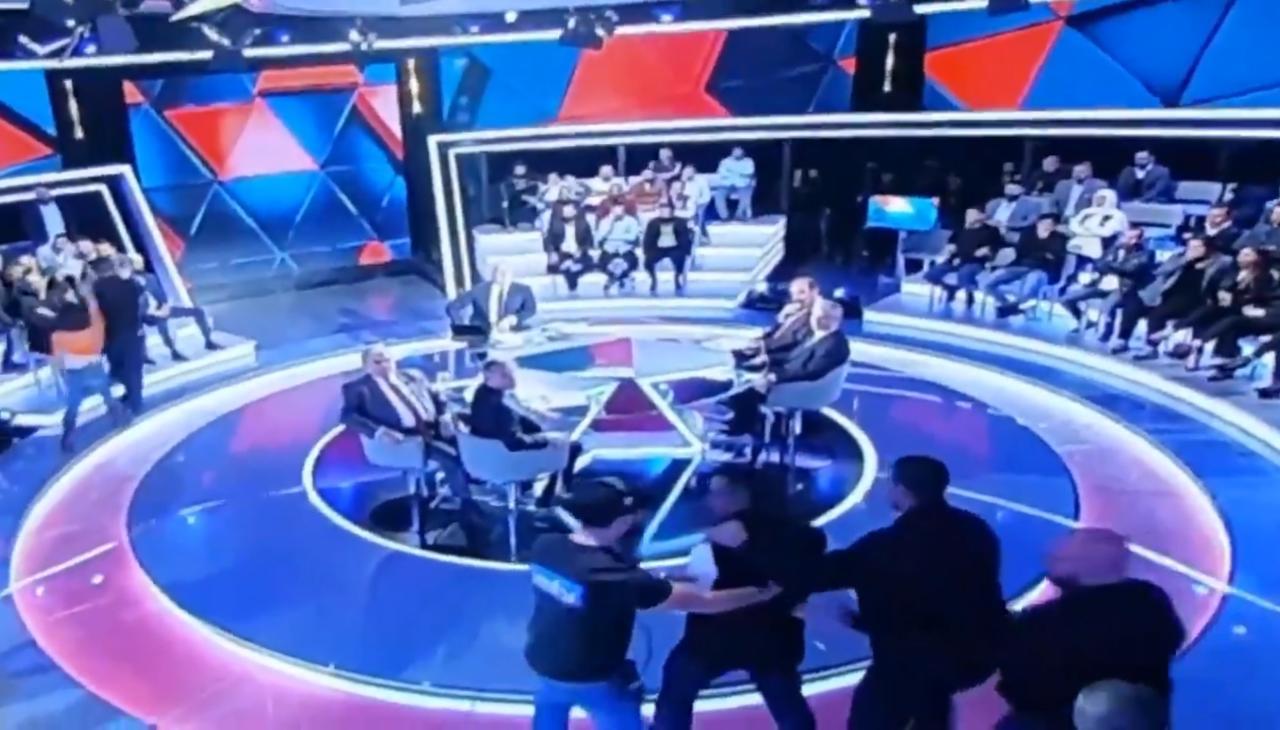 بالفيديو/ هرج ومرج في استديو صار الوقت علىMTV...ومارسيل ينهي الحلقة!