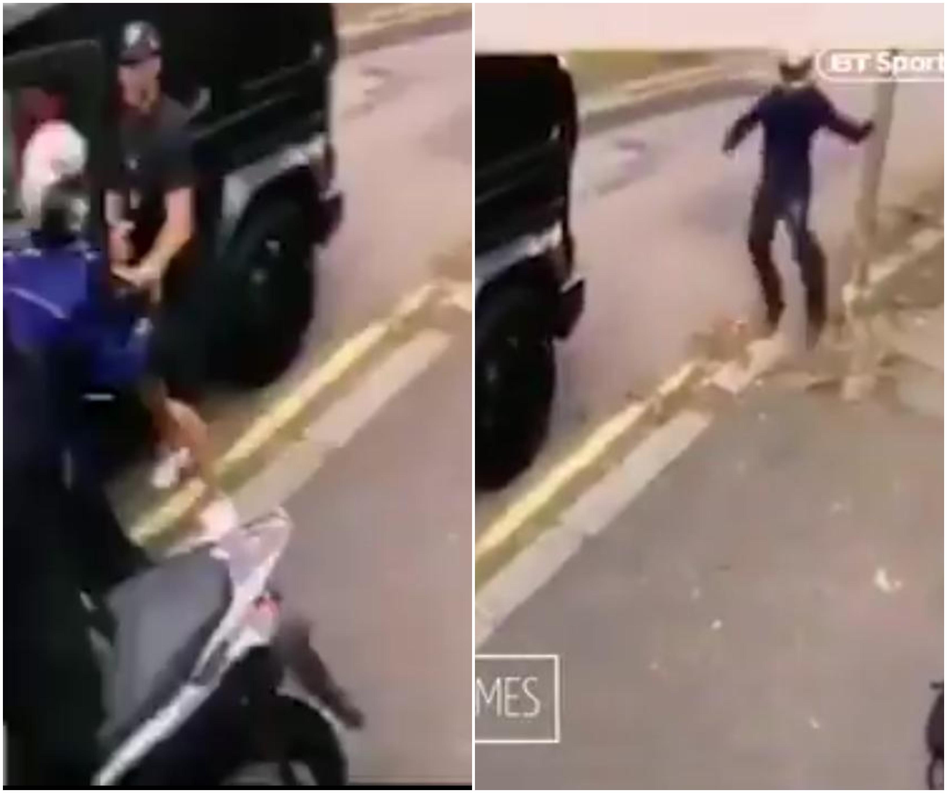 بالفيديو/ هجوم بالسكين يستهدف لاعب ارسنال مسعود أوزيل وزوجته في لندن