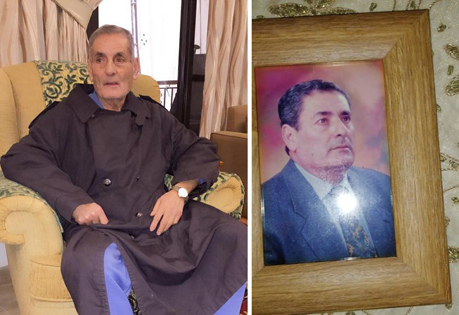 مأساة إنسانية...السيد مجيد الذي تجمّد من البرد في وادي عبرا...دفع حياته ثمناً للصقيع والزهامير