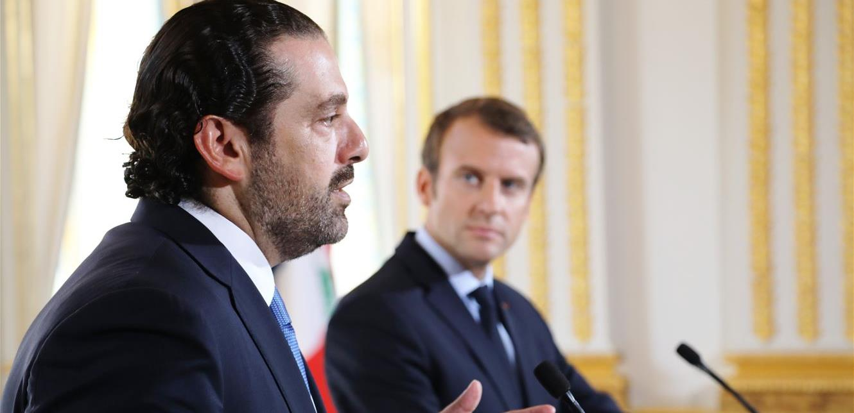 """الأنباء: """"باريس نصحت الرئاسة اللبنانية بتكليف الحريري بتشكيل الحكومة وإلا فستكون الحكومة العسكرية الخيار الوحيد"""""""