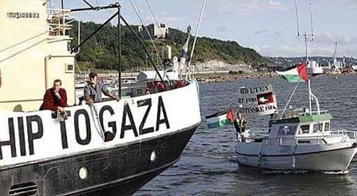 """اعتُقلوا في عرض البحر...الإحتلال الإسرائيلي يسيطر على سفينة """"كسر الحصار"""" التي أبحرت من أوروبا باتجاه غزة """"تم سحبها إلى ميناء أسدود واعتقال من فيها"""""""