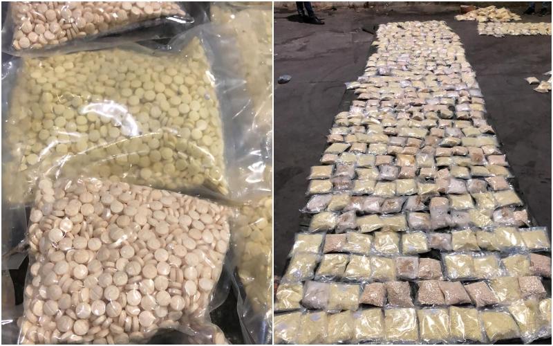 """بالصورة/ """"حوالي 7 مليون حبة كبتاغون""""...شاحنة محملة بكميات من المخدرات كانت معدّة للتهريب إلى العراق أوقفت في مرفأ طرابلس!"""