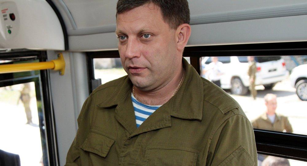 اغتيال رئيس جمهورية دونيتسك الشعبية بتفجير استهدفه في مقهى