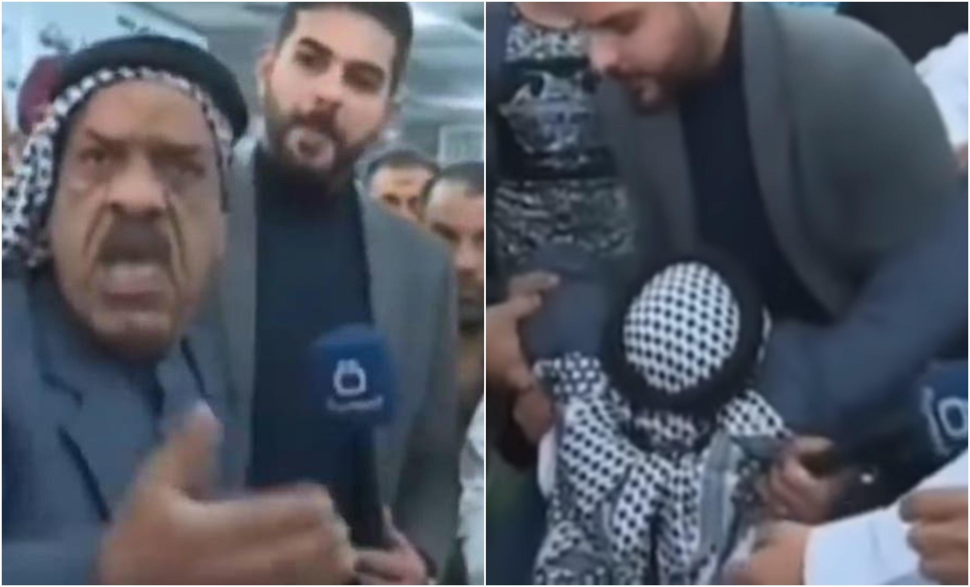 بالفيديو/ وفاة عراقي مسن على الهواء مباشرة...اشتكى أمام ...