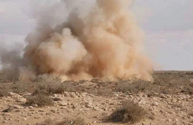 اصوات التفجيرات التي تسمع في منطقة بنت جبيل ناتجة عن تفجير الغام كبيرة من قبل مركز نزع الالغام