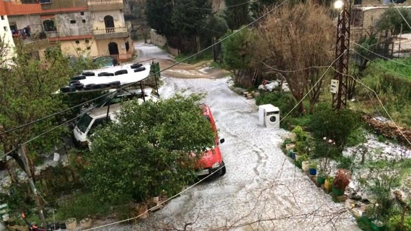 غزارة الامطار الحقت اضرارا جسيمة بالمنازل والمرزوعات في عكار
