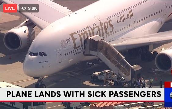 مباشر / السلطات الأمريكية تحجر على ركاب طائرة إماراتية في نيويورك
