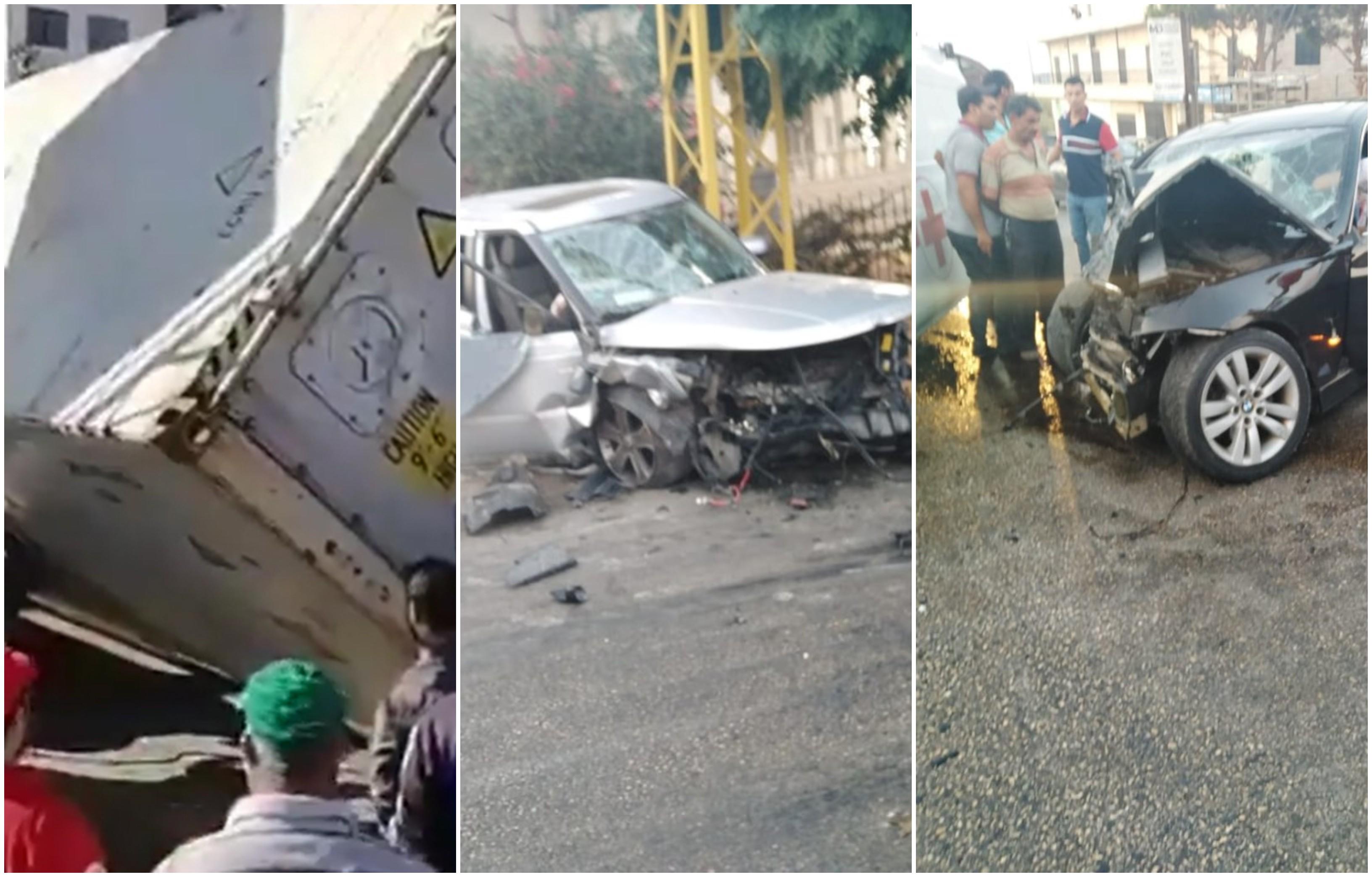 خلال الـ24 ساعة الماضية: 5 قتلى و21 حادث سير وإهمال الطرقات مستمر !