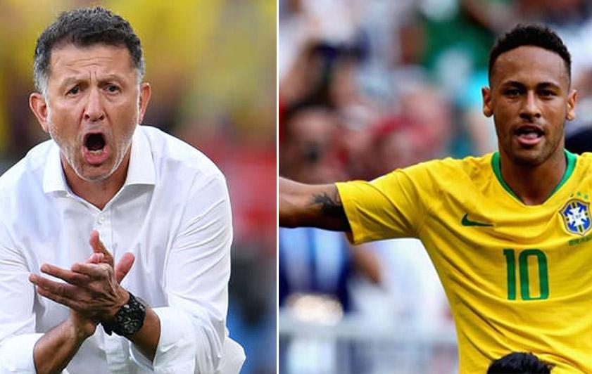 """مدرب المكسيك: نيمار """"عار"""" على كرة القدم"""