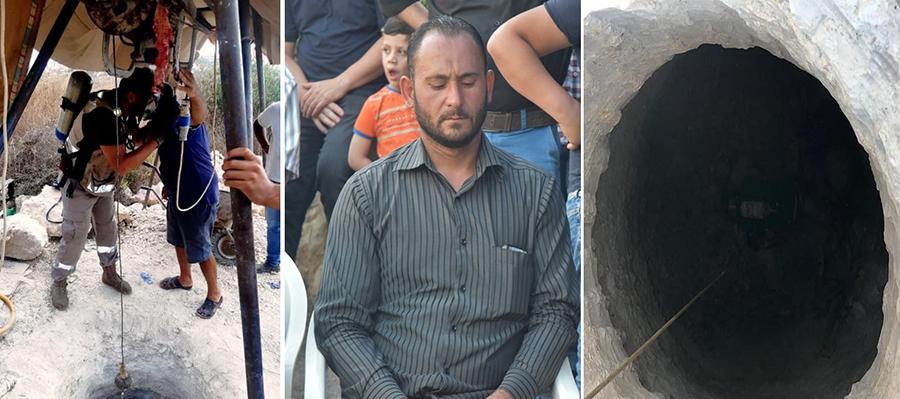 بطولة سطرها الشاب علي اسماعيل ابن عين بعال...أنقذ حياة عامل سوري الجنسية من بئر وقضى اختناقاً