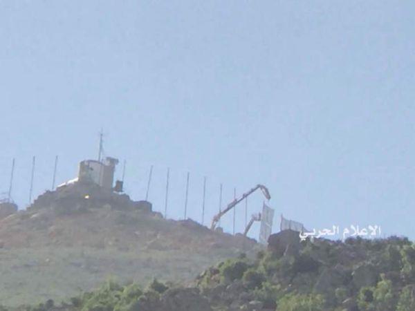 العدو الإسرائيلي يستأنف رفع السواتر الترابية مقابل متنزهات الوزاني