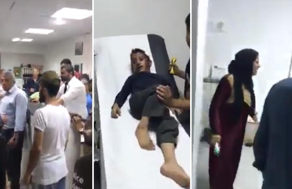 """فيديو متداول آخر من داخل مستشفى ترفض إستقبال طفل... """"الصبي عم بموت، كرمال 900 ألف""""!"""