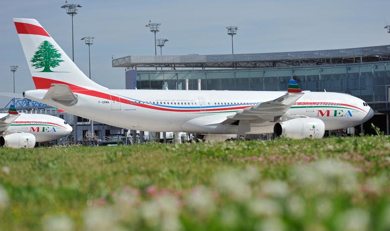 """الـ """"MEA"""" اللبنانية احتلت المركز الثاني كأفضل شركة طيران في الشرق الأوسط"""
