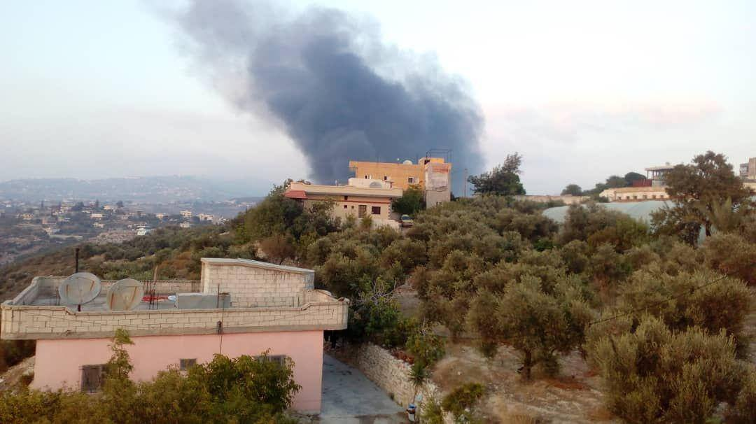 """روسيا اليوم: إستشهاد شخصين وإصابة 5 على الأقل بالقصف """"الإسرائيلي"""" على ريف حماة"""